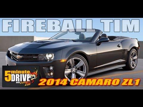 FIREBALL TIM 2014 Chevrolet Camaro ZL1 5Minute Drive