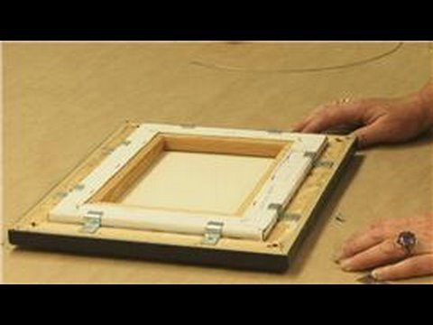 how to build a frame for a painting