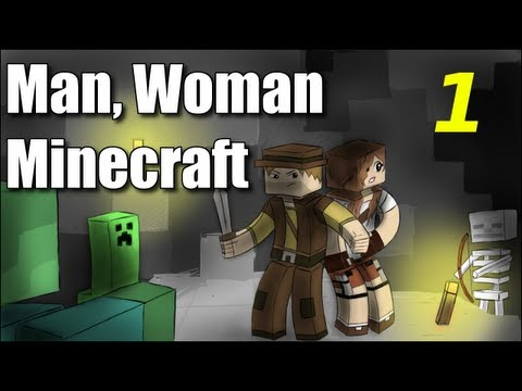 "Man Woman Minecraft - S2E1 ""Bungle in the Jungle"" (Season 2 Premiere!)"