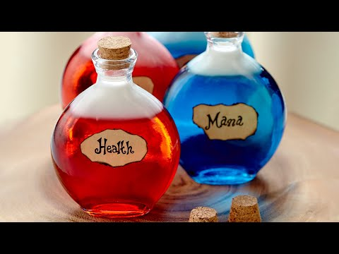 DIABLO 3 SKITTLE VODKA POTIONS – NERDY NUMMIES