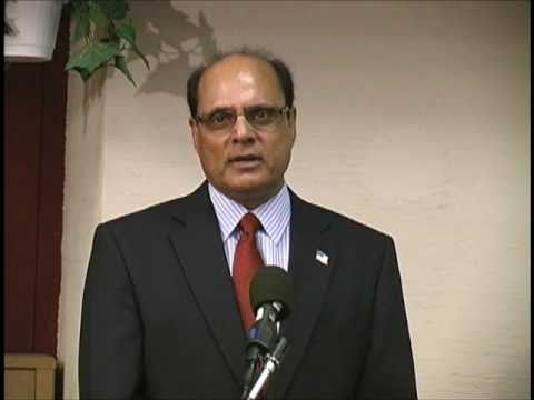 Speech by Sajid Choudhry (Urdu) at a Special Program for Dr Kaleem Ajiz