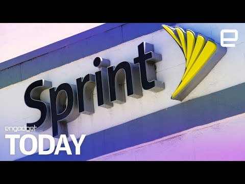 Sprint and T-Mobile are back in merger talks   Engadget Today