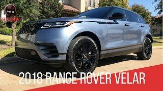 2018 Range Rover Velar R-Dynamic Test Drive