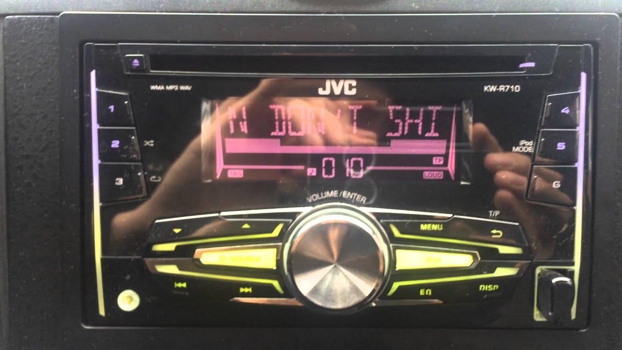 Jvc-kw-r400 схема подключения