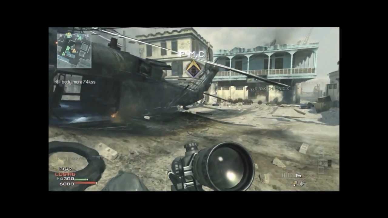 mw3 sub machine guns