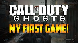 "Call of Duty Ghosts: ""MY FIRST GAME!"" (16 Kill Cranked Gameplay on Freight)"