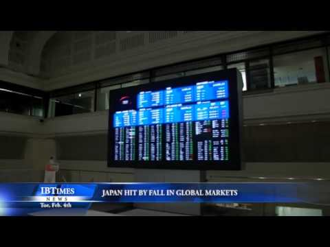 Japan Hit by Fall in Global Markets