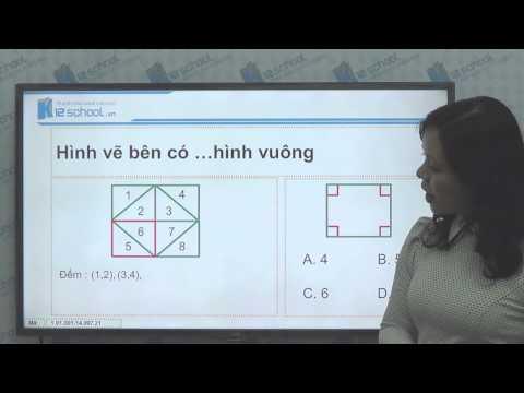 [Toán tiểu học] [Toán 1, Toán lớp 1] - Hình vuông, hình tròn (Tuần 21) - [LIKA-K12School]