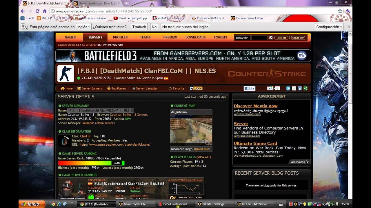 jugar al counter strike 1.6 online gratis sin descargar