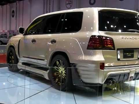 INVADER L60's - Lexus turned Monsters in Abu Dhabi! - YouTube
