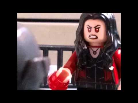 Avengers age of ultron quicksilver and ultron prime death scene in lego