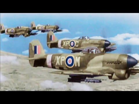 Những cảnh ném bom ác liệt trong chiến tranh thế giới thứ hai [HD]