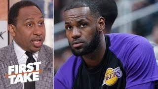 Does LeBron regret joining the Lakers? | First Take