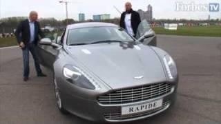 «Альфа Групп» .А.Кузьмичев тестирует Aston Martin Rapide