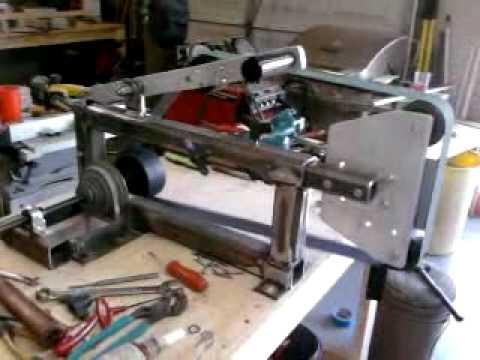 DLL's DIY Belt Grinder