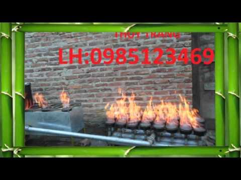 Bếp đun trấu siêu hồng ngoại 7 NCN  VTV2