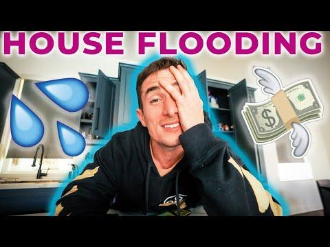 my house almost flooded hahahaha