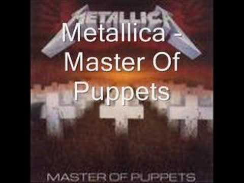 Metallica - Master Of Puppets (with lyrics) - YouTube