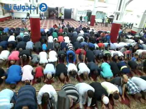 11 صلاة العشاء والتراويح 11 من رمضان من مسجد البخاري -