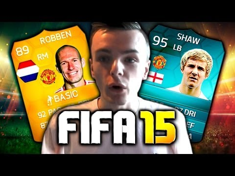 Manchester United Potential FIFA 15 Players/Team!
