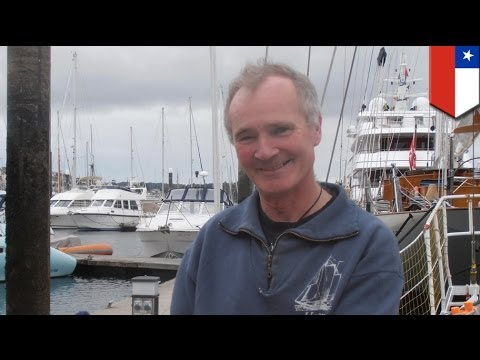 Scottish yachtsman rescued by Chilean navy