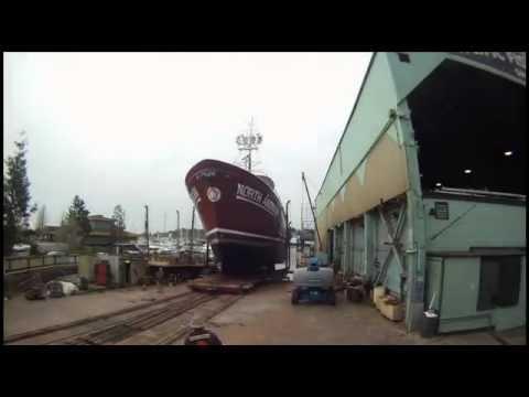 North American Haulout at Pacific Fishermen Shipyard