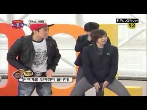 U-Kiss and ZE:A Dance Battle
