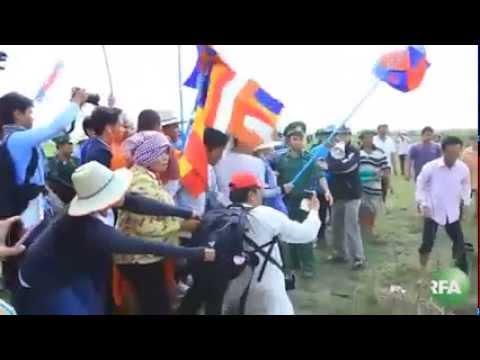 Xô xát tại biên giới Việt Nam-Campuchia - Đánh nhau kinh hoàng tại biên giới Việt Nam-Campuchia