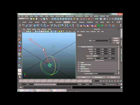 Create a switchable IK/FK character rig in Maya (5 of 12)