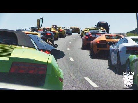 Lamborghini Club - Hill Country Cruise