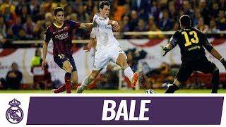 Gol de Gareth Bale en la final de Copa