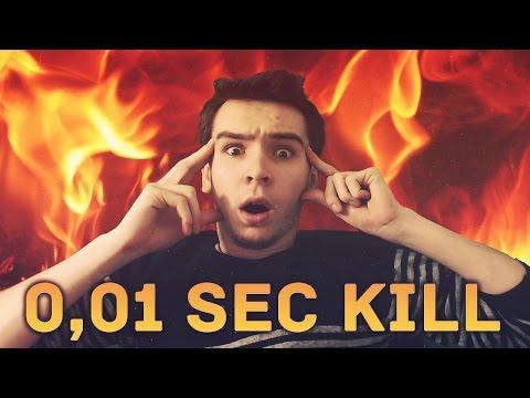 Rengar Fastest Kill - NEW RECORD : 0.01sec !! LoL