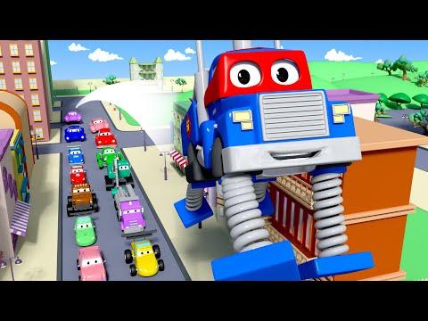 Mesto áut - Pružinový monster truck