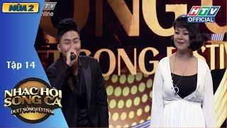 Diva Hồng Nhung bất ngờ có mặt tại HTV NHẠC HỘI SONG CA MÙA 2 | NHSC #14 FULL | 15/7/2018