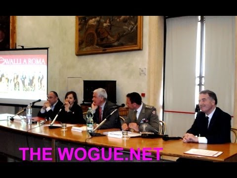 THE WOGUE.NET: NEWS CAVALLI A ROMA 2014 CONFERENZA STAMPA CAMPIDOGLIO COMUNE DI ROMA