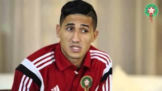 بالفيديو.. الوافد الجديد على المنتخب الوطني.. فيصل فجر سعيد باللعب لبلدي المغرب |