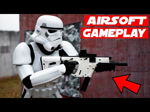 Airsoft Stormtrooper Gameplay + Funny Moments!
