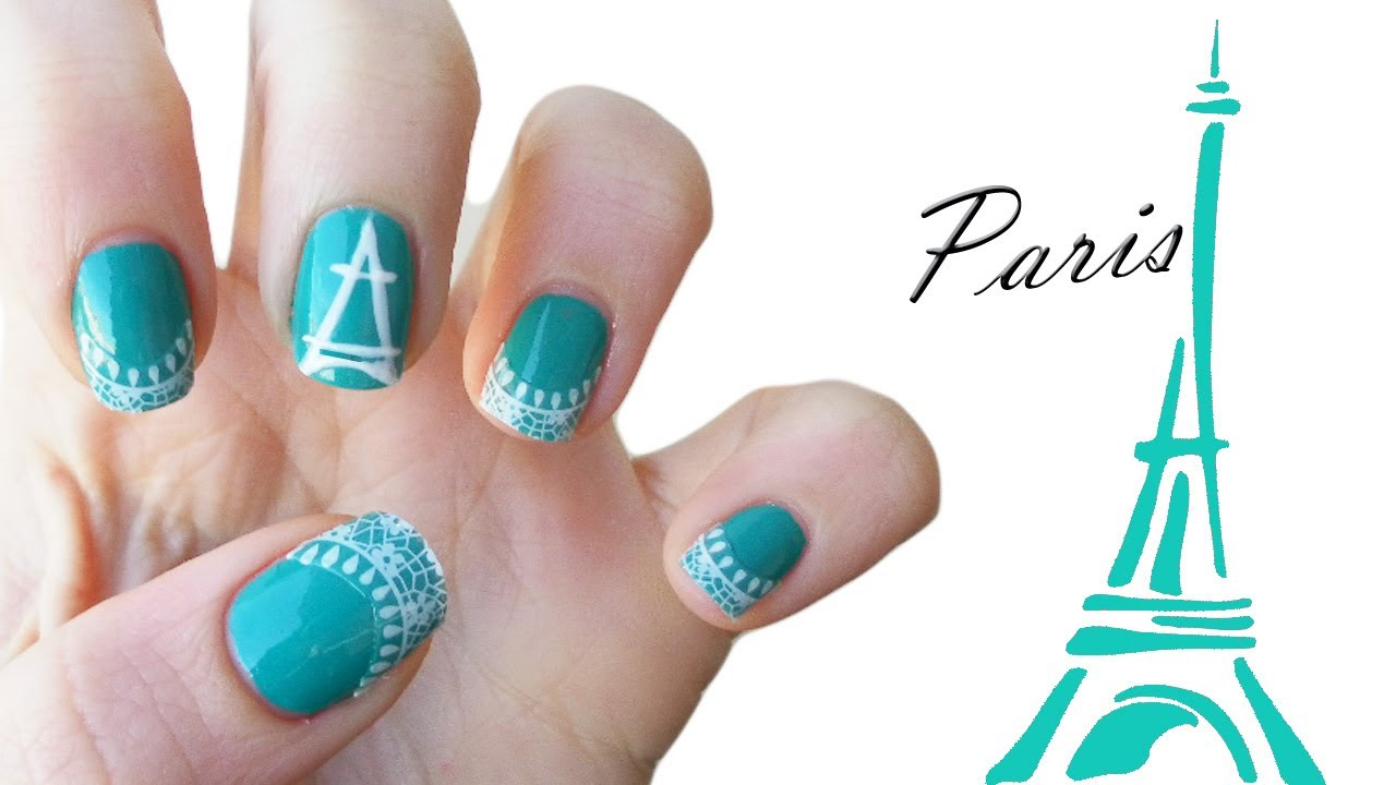 Paris Nail Art ♥ - YouTube