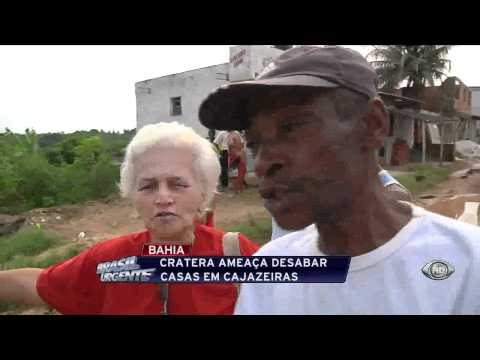 Brasil Urgente - Cratera em Cajazeiras