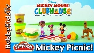 PLAY-DOH Doc McStuffins & Disney Mickey And Minney Mouse
