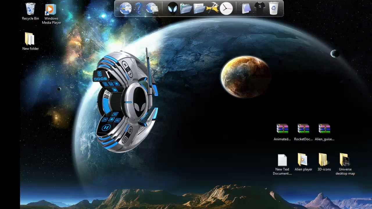Windows 7 Theme-How To Install Animated 3D Icons For ...