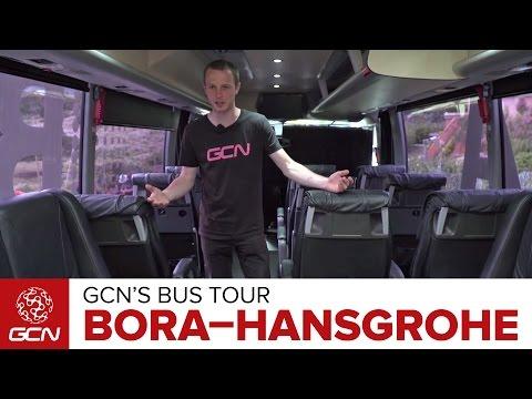 Bora-Hansgrohe Bus & Kitchen Tour | Giro d'Italia 2017