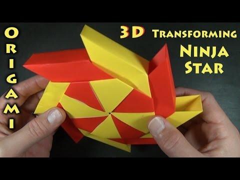 Transforming Ninja Star designed by Ray Bolt