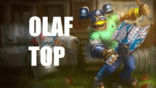 League Of Legends Olaf Top Full Game Commentary