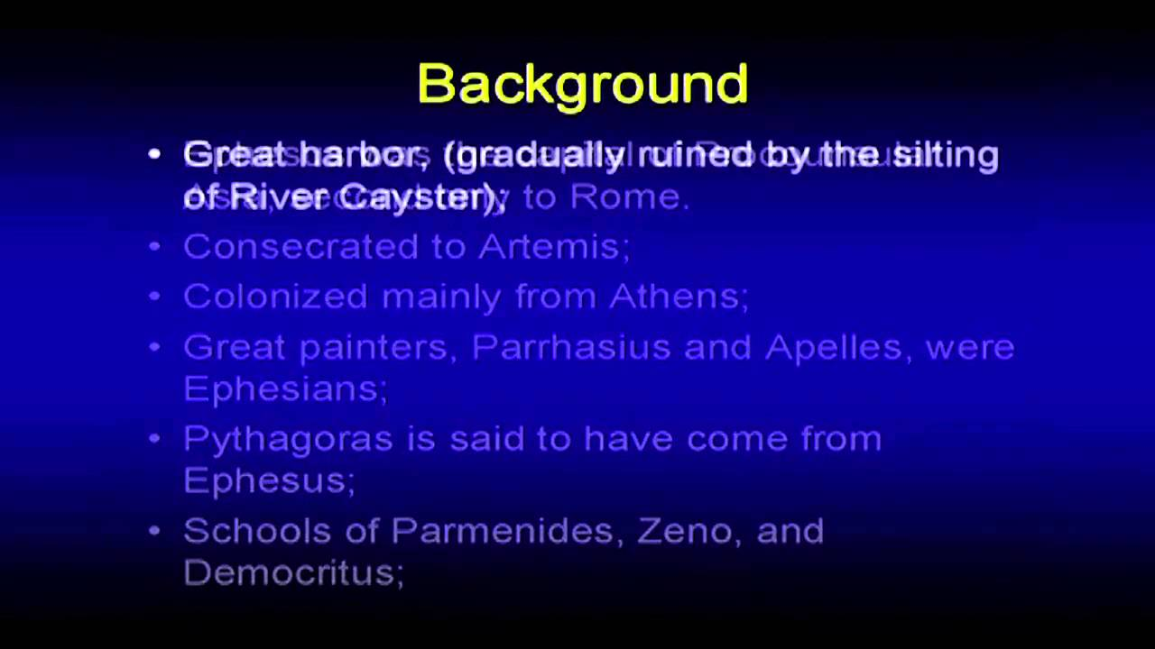 background of the book of ephesians pdf