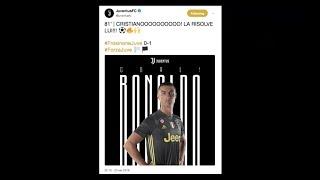 Cristiano Ronaldo conquista Frosinone | #SettimanaSocial Juventus 25/09/2018