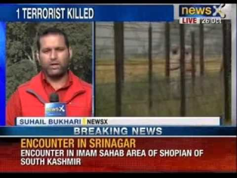 Encounter in Imam Saheb area of shopian of south Kashmir - News X