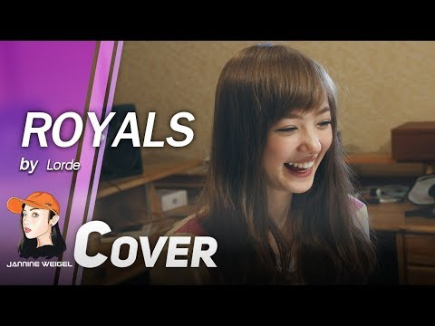 Royals - lorde Cover by 13 y/o Jannina W