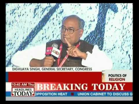 Smriti Irani and Digvijaya Singh talk about BJP's chances of winning