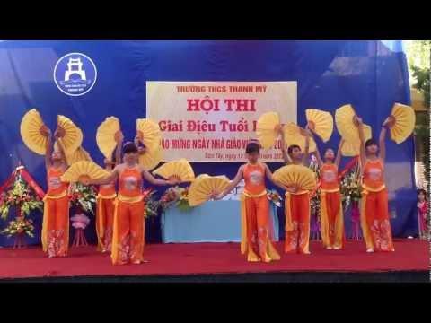 MÚA NÉT VIỆT   LỚP 9A   TRƯỜNG THCS THANH MỸ   ST   HN IMG 0206